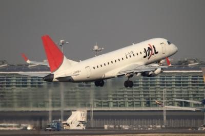 soku_33730.jpg :: JAL E-170/HNDハミングバード・ディパーチャー 乗り物 交通 航空機 飛行機 旅客機