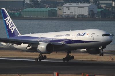 soku_33732.jpg :: ANA B777/HND 乗り物 交通 航空機 飛行機 旅客機