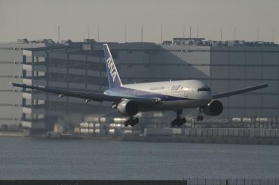 soku_33733.jpg :: ANA B777/HND 乗り物 交通 航空機 飛行機 旅客機