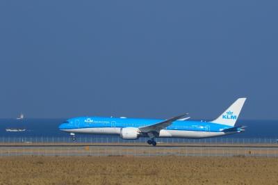soku_33754.jpg :: 1 乗り物 交通 航空機 飛行機 旅客機 関空 KLM