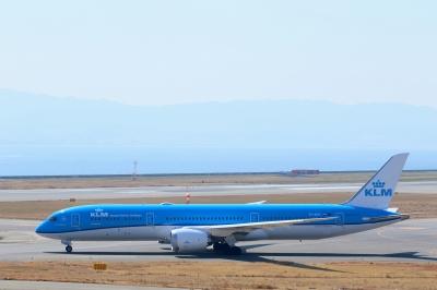 soku_33757.jpg :: 4 乗り物 交通 航空機 飛行機 旅客機 関空 KLM