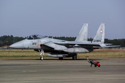 soku_33773.jpg :: 百里基地 乗り物 交通 航空機 飛行機 軍用機 戦闘機 F.15J