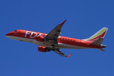 soku_33788.jpg :: FDA/1号機 RED 乗り物 交通 航空機 飛行機 旅客機