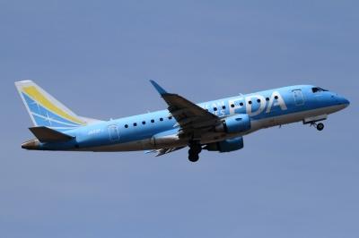 soku_33789.jpg :: FDA/2号機 BLUE 乗り物 交通 航空機 飛行機 旅客機