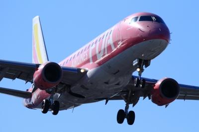 soku_33790.jpg :: FDA/3号機 PINK 乗り物 交通 航空機 飛行機 旅客機