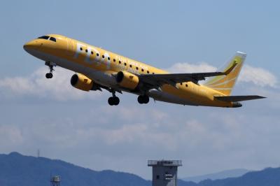 soku_33791.jpg :: FDA/7号機 YELLOW 乗り物 交通 航空機 飛行機 旅客機