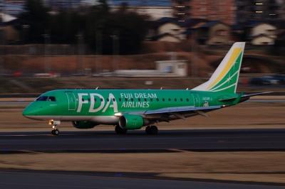 soku_33792.jpg :: FDA/4号機 GREEN 乗り物 交通 航空機 飛行機 旅客機