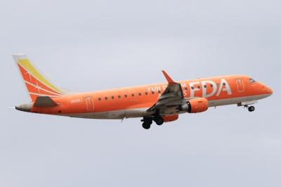 soku_33793.jpg :: FDA/5号機 ORANGE 乗り物 交通 航空機 飛行機 旅客機