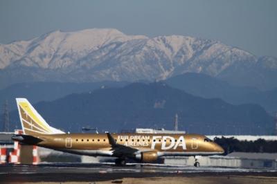 soku_33795.jpg :: FDA/9号機 GOLD 乗り物 交通 航空機 飛行機 旅客機