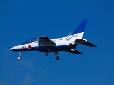 soku_33825.jpg :: 岐阜基地 ブルーインパルス T.4 乗り物 交通 航空機 飛行機 軍用機