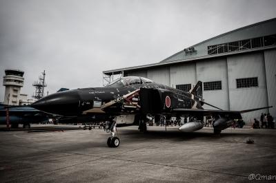 soku_33913.jpg :: 偵察機 RF.4EJ ファントムII ブラックファントム 飛行開発実験団