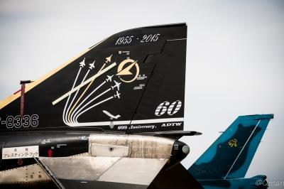 soku_33914.jpg :: 偵察機 RF.4EJ ファントムII ブラックファントム 飛行開発実験団
