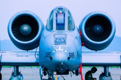 soku_33923.jpg :: 航空機 戦闘機 米軍 海兵隊 A-10
