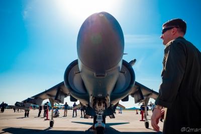 soku_33927.jpg :: 航空機 飛行機 AV-8B ハリアーII 軍用機 岩国基地
