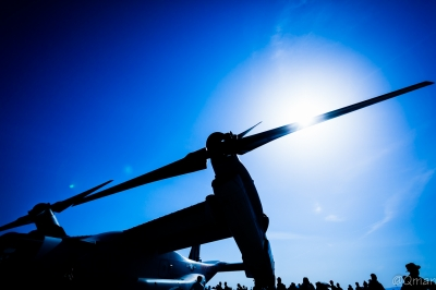 soku_33930.jpg :: 航空機 ヘリコプター オスプレイ MV.22 軍用機 岩国基地