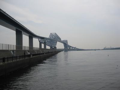 soku_33939.jpg :: 建築 建造物 橋 風景 街並み ランドマーク 東京ゲートブリッジ