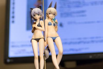 soku_33955.jpg :: EOS80D フィギュア ストライクウィッチーズ エイラ サーニャ