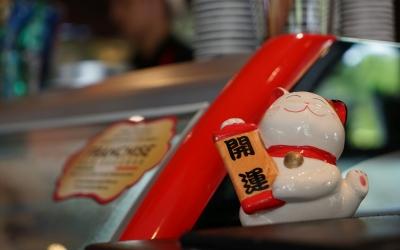 soku_34018.jpg :: 雑貨 物 モノ 猫 ネコ 招き猫 開運