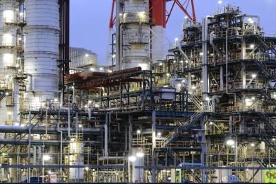 soku_34037.jpg :: 建築 建造物 工場 産業機械 夜景 長時間露光