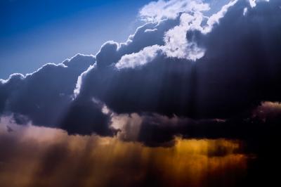 soku_34082.jpg :: 色 光 光芒 風景 自然 空 雲