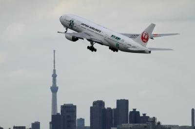 soku_34083.jpg :: JAL B777 HND 乗り物 交通 航空機 飛行機 旅客機
