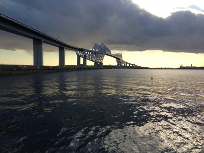 soku_34086.jpg :: 建築 建造物 橋 風景 街並み ランドマーク 東京ゲートブリッジ