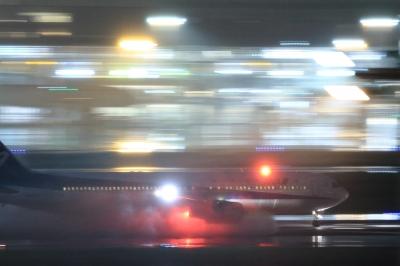 soku_34091.jpg :: ANA B767/HND 乗り物 交通 航空機 飛行機 旅客機 流し撮り