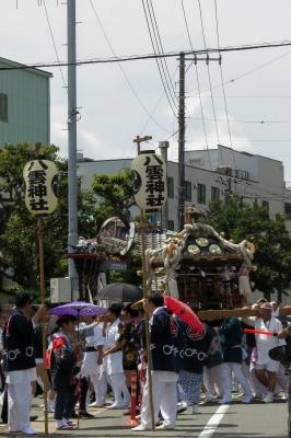 soku_34098.jpg :: 風景 街並み 祭りの風景 祭り 横須賀 八幡神社