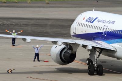 soku_34137.jpg :: ANA A320/HND 乗り物 交通 航空機 飛行機 旅客機