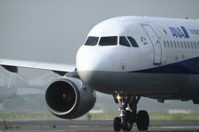 soku_34140.jpg :: ANA A320/HND 乗り物 交通 航空機 飛行機 旅客機