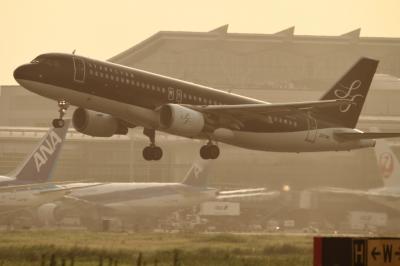 soku_34141.jpg :: SFJ A320/HND 乗り物 交通 航空機 飛行機 旅客機