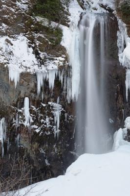 soku_34174.jpg :: 風景 自然 滝 極寒 スローシャッター