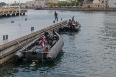 soku_34176.jpg :: 海上自衛隊 掃海隊 水中処分隊 海ゴリラ 横須賀基地