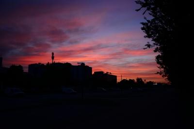 soku_34181.jpg :: 風景 自然 空 朝日 朝焼け 日の出