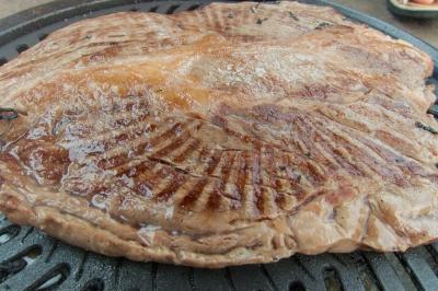 soku_34244.jpg :: 食べ物 洋食 肉料理 牛肉 バーベキュー BBQ
