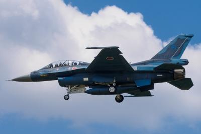 soku_34250.jpg :: 乗り物 交通 航空機 飛行機 軍用機 支援戦闘機 F.2B 岐阜基地
