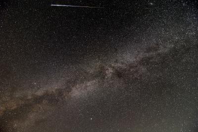 soku_34285.jpg :: 風景 自然 天体 天の川 ペルセウス座流星群