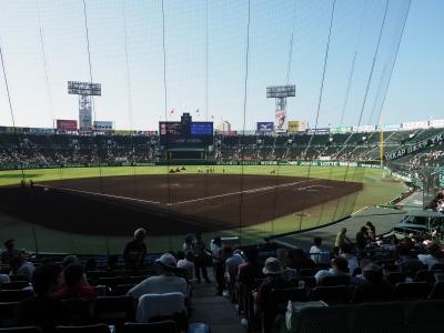 soku_34297.jpg :: 風景 街並み 野球場 甲子園球場