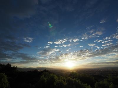 soku_34308.jpg :: 風景 自然 空 雲 ブルーアワー