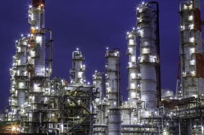 soku_34311.jpg :: 建築 建造物 工場 産業機械 夜景