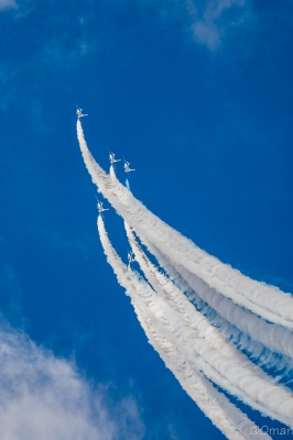 soku_34368.jpg :: ブルーインパルス T.4 フェニックスループ 航空機 飛行機 軍用機 三沢基地