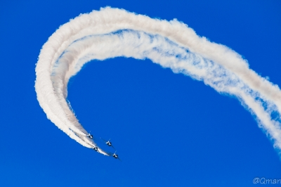 soku_34378.jpg :: ブルーインパルス T-4 航空機 飛行機 軍用機 三沢基地