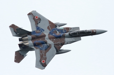 soku_34412.jpg :: 小松基地航空祭 アグレッサー F.15DJ 乗り物 交通 航空機 飛行機 軍用機 戦闘機