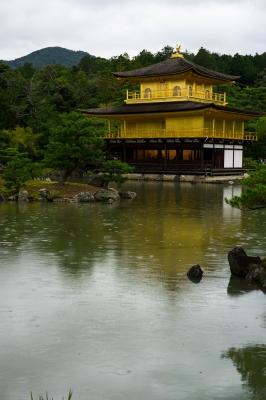 soku_34436.jpg :: 風景 街並み 和 和風 旧跡 名所 金閣寺