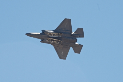 soku_34441.jpg :: 乗り物 交通 航空機 飛行機 軍用機 戦闘機 F.35B
