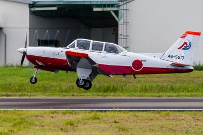 soku_34452.jpg :: 練習機 T-7(初等練習機) 航空自衛隊 航空機 飛行機 軍用機