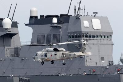 soku_34486.jpg :: デジカメ板 飛行機写真スレ〓第82便〓 新潟海上防災フェスタ SH-60K 飛行機 ヒコーキが足りない DDH-181 ひゅうが Hyuga by 新潟東港