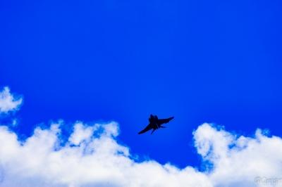 soku_34493.jpg :: 戦闘機 F-4EJ改 戦闘機 航空自衛隊 新田原基地