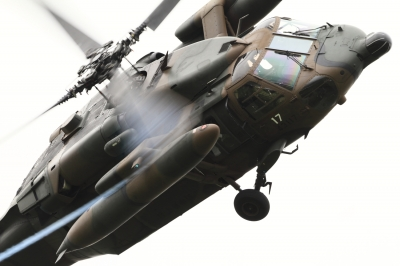 soku_34501.jpg :: 明野駐屯地航空祭予行 UH.60J 救難ヘリ