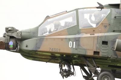 soku_34503.jpg :: 明野駐屯地航空祭予行 AH-64D アパッチ 攻撃ヘリコプター